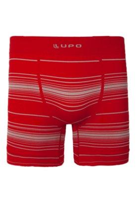 Cueca Boxer Lupo Life Vermelha