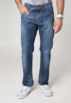 Calça Jeans Sawary Reta Urban Azul