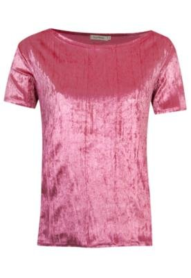 Blusa Lucy in the Sky Plisse Rosa