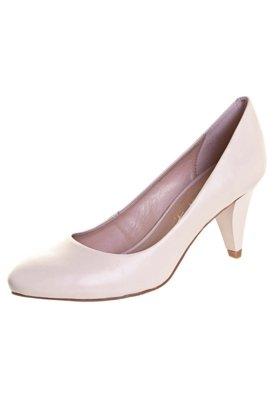 Sapato Scarpin Lilly's Closet Salto Médio Básico Nude