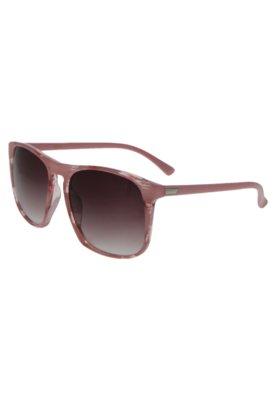 Óculos Solar Abstrato Rosa - FiveBlu