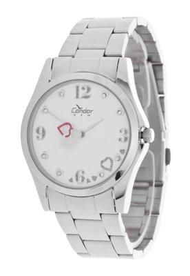 Relógio Condor KE25184B Prata