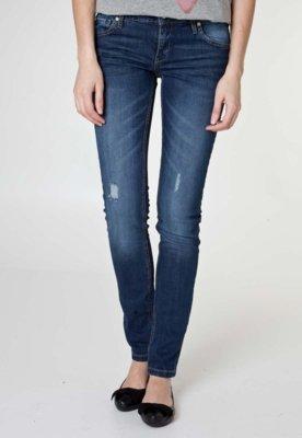 Calça Jeans MNG Barcelona Slim Fit Alice 8 Azul