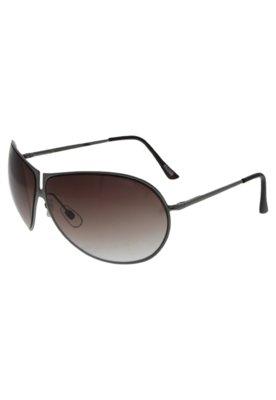 Óculos Solar Recorte Prata - FiveBlu