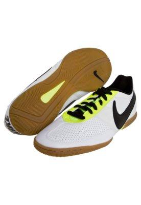 Chuteira Futsal Nike 5 Davinho Branca