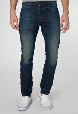 Calça Jeans Scotch & Soda Skinny Ralston Wall Azul