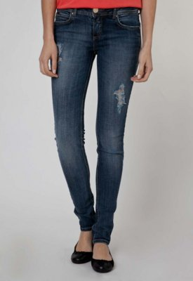 Calça Jeans Colcci Katy Skinny Blur Azul