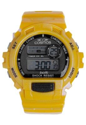 Relógio Cosmos OS48630L Amarela