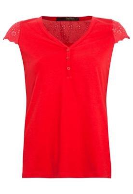 Blusa Pop Touch Darling Vermelha