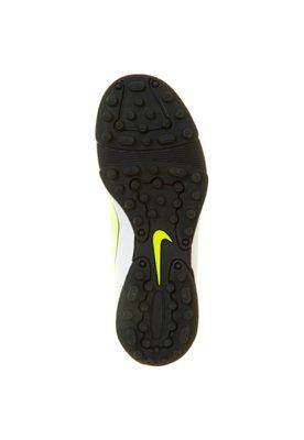 Chuteira Society Nike Mercurial Vortex CR TF Laranja/Branca