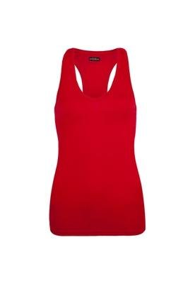 Blusa Slim Recorte Vermelha - Triton