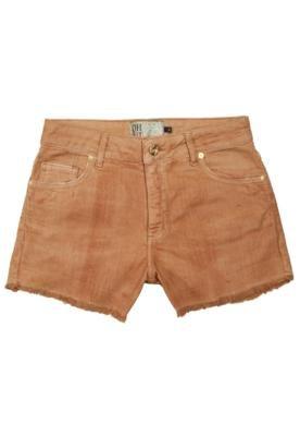 Bermuda Jeans Oh Boy Vintage Pockets Marrom