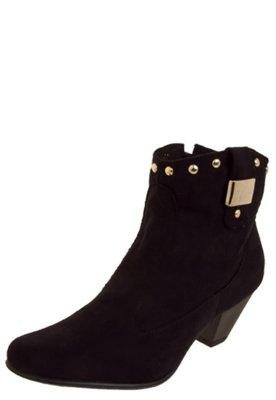 Ankle Boot FiveBlu Glam Preta