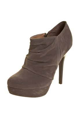 Ankle Boot FiveBlu Franzido Cinza