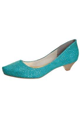 Sapato Scarpin FiveBlu Metalizado Verde