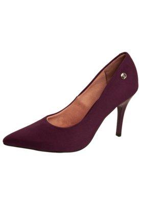 Sapato Scarpin Vizzano Liso Vinho