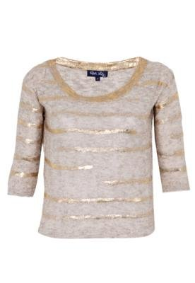 Blusa Rock Lily Angie Bege