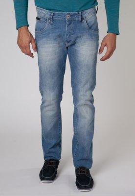 Calça Jeans Paul Skinny Lavagem Azul - Forum