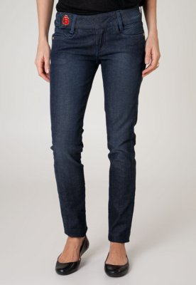 Calça Jeans Carmim Skinny Try Azul