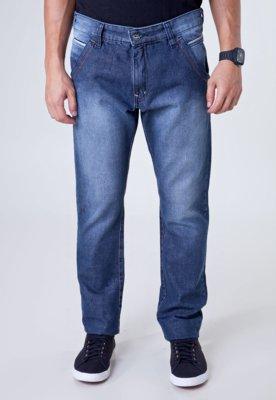 Calça Jeans Fatal Surf Reta Modern Azul