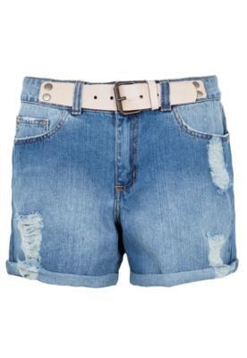Bermuda Jeans Sacada Molly Azul