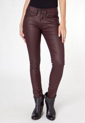 Calça Sarja Calvin Klein Jeans Skinny City Marrom