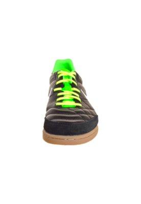 Chuteira Indoor Nike Tiempo Natural IV LTR IC Preta