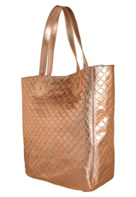Bolsa Sacola Capodarte Shine Bronze