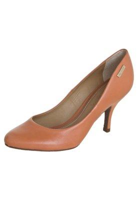 Sapato Scarpin Dumond Salto Médio Caramelo