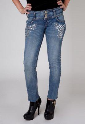 Calça Jeans Colcci Pedras Azul