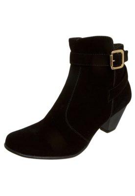 Ankle Boot FiveBlu Fivela Preta
