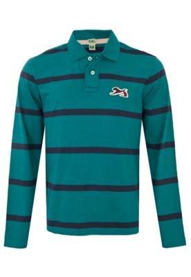 Camisa Polo Leão Listrada - TNG