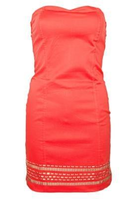 Vestido Anna Flynn Lower Vermelho