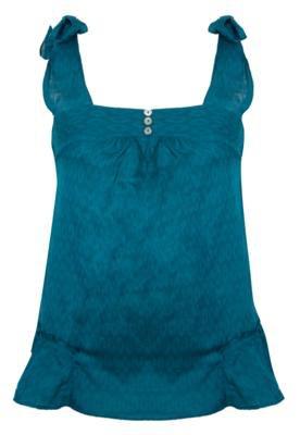 Blusa Anna Flynn Texture Azul