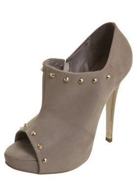Ankle Boot SPikes Bege - Pink Connection