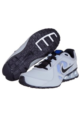 Tênis Nike Reax 7 TR Lea Cinza