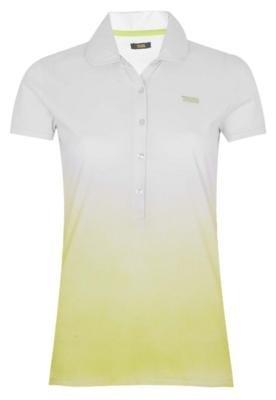 Camisa Polo Triton Justa Degrau Branca