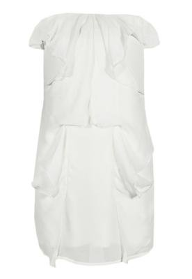 Vestido Coca-Cola Slim Fluid Off-White - Coca Cola Clothing
