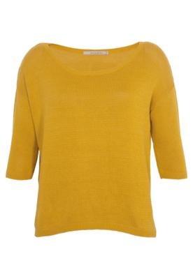 Blusa Life Amarela - Shoulder
