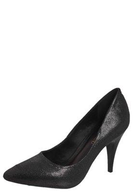 Sapato Scarpin FiveBlu Bico Fino Preto