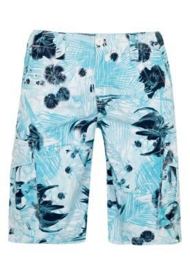 Bermuda Cargo Calvin Klein Hawai Azul - Calvin Klein Jeans