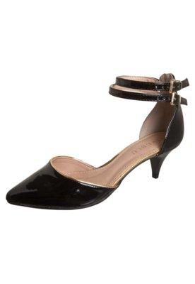 Sapato Scarpin FiveBlu Delicata Preto