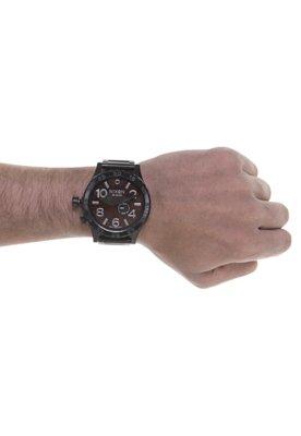 Relógio Nixon 51-30 Tide Preto/Marrom