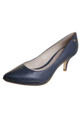 Sapato Scarpin Capodarte Salto Fino City Azul