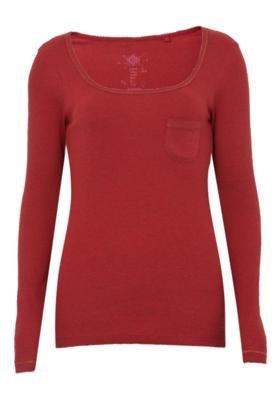 Blusa Cantão Shine Vermelha