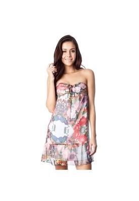 Vestido Elastico Multicolorido - Carina Duek
