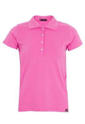 Camisa Polo Anna Flynn Color Pratic Rosa
