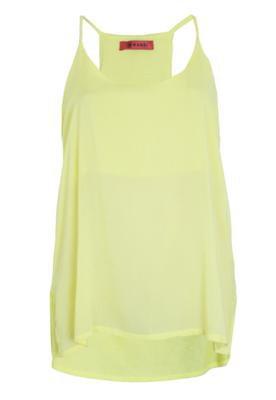 Blusa Mandi Fashion Amarela
