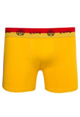 Cueca Boxer Lupo Urban Amarela