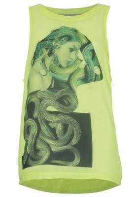 Blusa Mitologia Amarela - Espaço Fashion